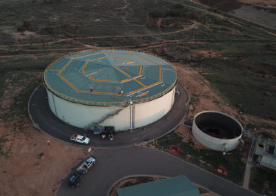 Mildura West Water Tank Cathodic Protection