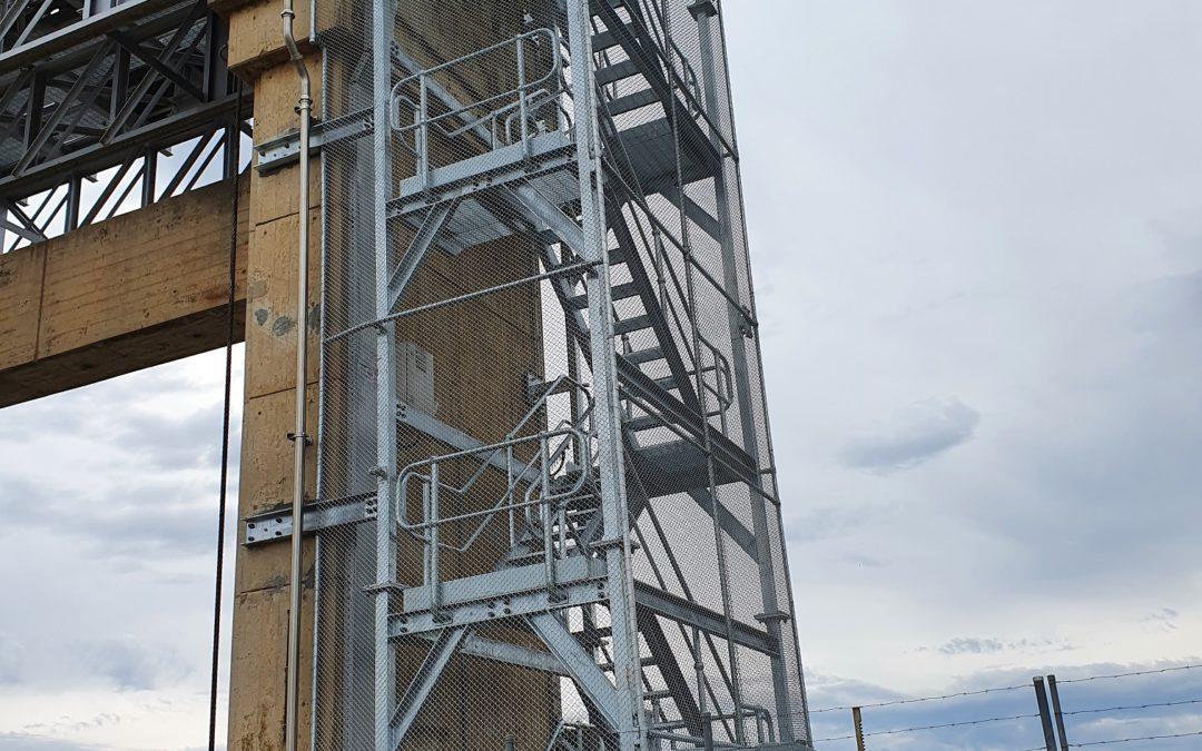 Yarrawonga Weir Access Stairs