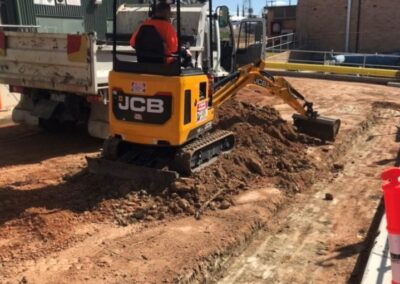 7th Street Road Works, Mildura VIC
