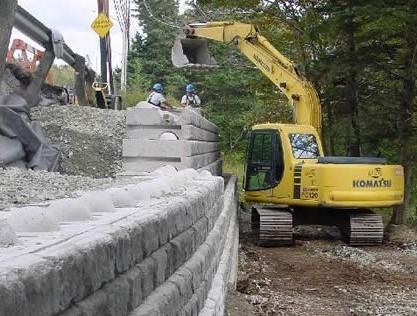 Tourist Park – Retaining Wall